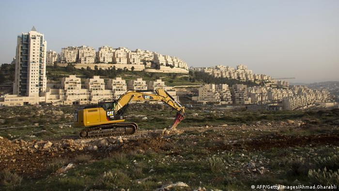 Israel Siedlungsbau Har Homa Archiv März 2014