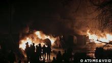 Szene aus dem Film Maidan des ukrainischen Regisseurs Sergey Loznitsa Copyright: ATOMS & VOID