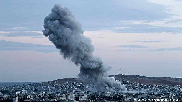 Kobane in Syrien (Foto: Shirwan Qasim/TRANSTERRA Media)