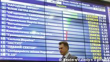 Ukraine Wahl Stimmenauszählung 27.10.2014