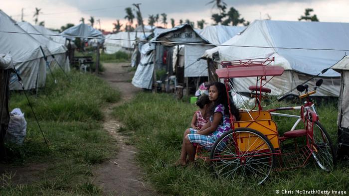 Philippinen Folgen Haiyan Oktober 2014