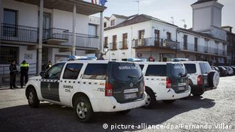 Автомобили испанской полиции