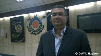 Iman Abdel Wahab. (Photo: Mostafa Hashem/ DW)
