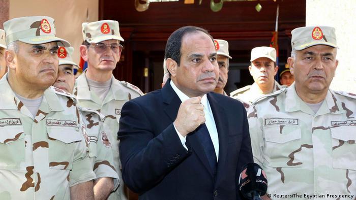 Ägypten Ansprache Präsident al-Sisi in Kairo 25.10.2014