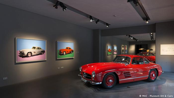 Спорткар века Mercedes Benz 300 SL