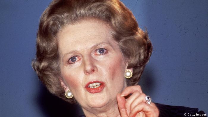 EU Großbritannien Premierminister Margaret Thatcher 1984 (Getty Images)