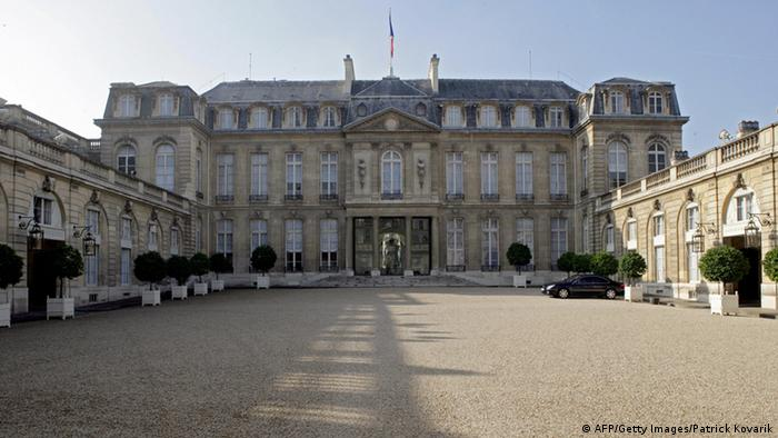 Der Élysée-Palast in Paris