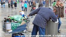 Symbolbild Deutschland Armut