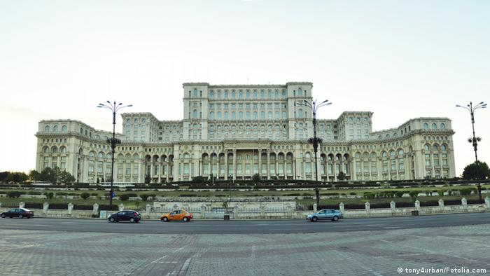 Bildergalerie Präsidentenpaläste Palast des Volkes Rumänien
