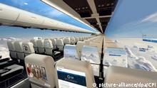Flugzeug durchsichtig gläsernes Flugzeug Panorama Aerospace CPI