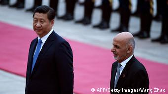 Ghani bei Xi Jinping 28.10.2014 Peking