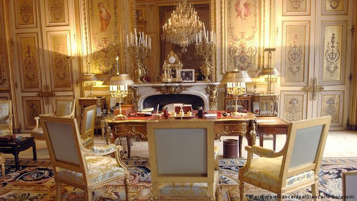 Bildergalerie Präsidentenpaläste Elysee Palast Frankreich