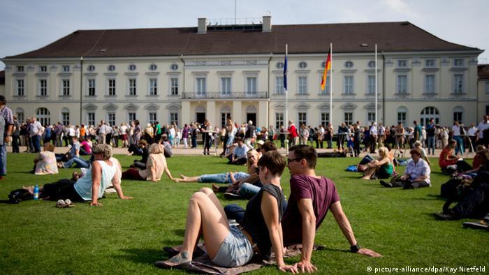 Bildergalerie Präsidentenpaläste Schloss Bellevue Deutschland