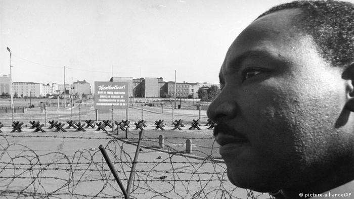Berlin 1964 Martin Luther King (picture-alliance/AP)