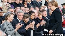 Merkel Erinnerung an erste Flandernschlacht im Jahr 1914 28.10.2014