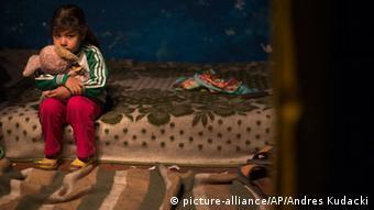 Spanien Armut Familie Kind