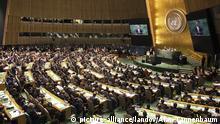 Image #: 32095852 U.S. President Barack Obama addresses the United Nations 69th General Assembly in New York on September 24, 2014. UPI/Alan Tannenbaum/Pool /LANDOV