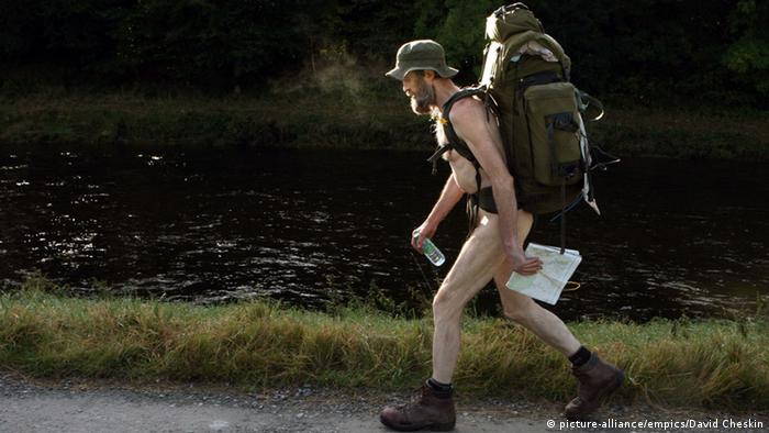 Naked hiker Stephen Gough
