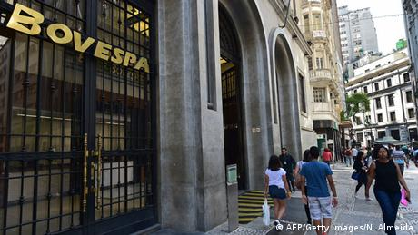 Brasilianische Börse Bovespa in Sao Paulo (AFP/Getty Images/N. Almeida)