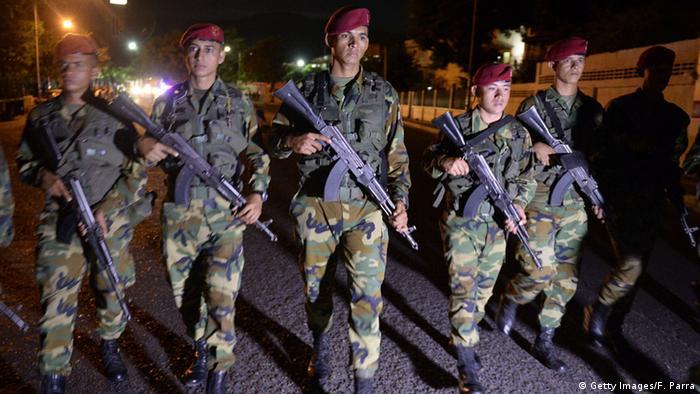 Venezuela Soldaten Militär Armee