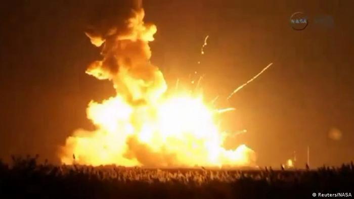 NASA: explota cohete portador estadounidense