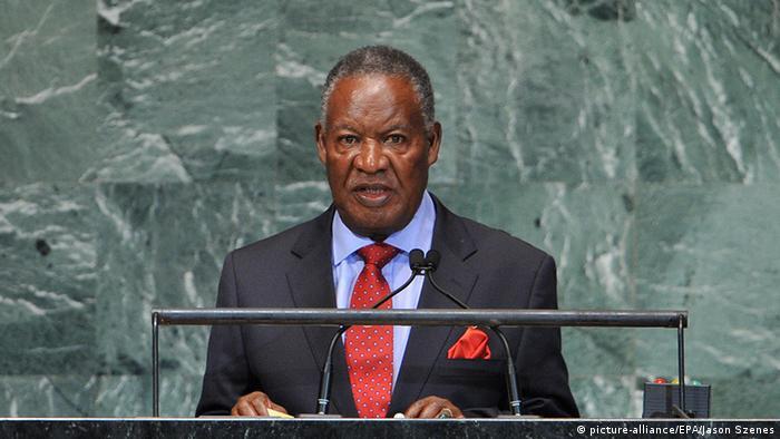 Portrait of Michael Sata