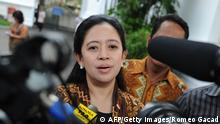 Puan Maharani Ministerin Indonesien 27.10.2014