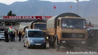 Türkei Syrien Kurden Irak Peshmerga Kobane