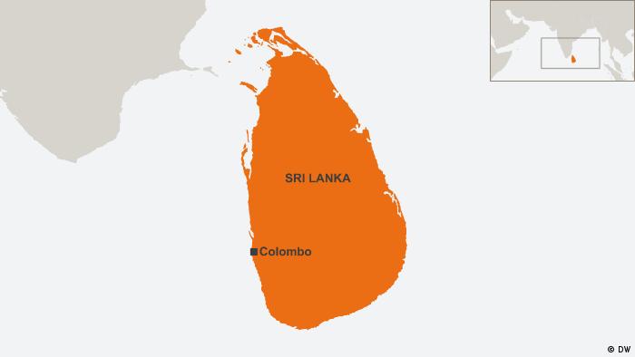 29.10.2014 DW online Karten Sri Lanka, Colombo (DW)