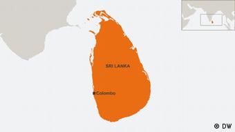 29.10.2014 DW online Karten Sri Lanka, Colombo