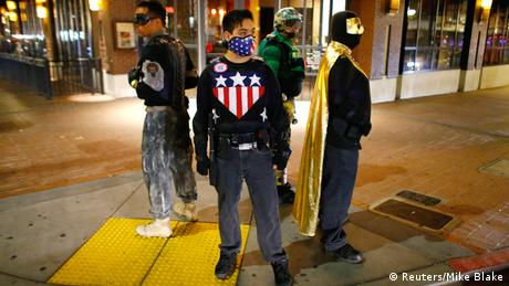 Xtreme Justice League USA (photo: REUTERS/Mike Blake)