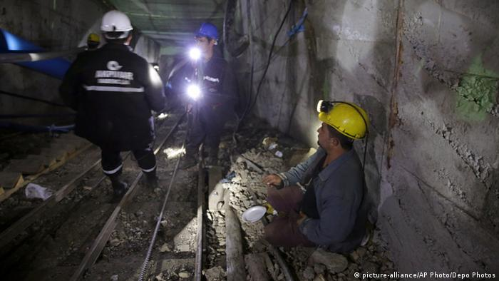Türkei Ermenek Minenunglück 29.10.2014