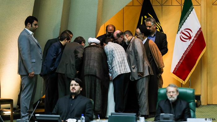 Iran Anhörung im Parlament