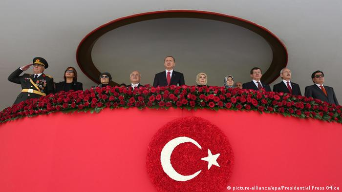 Türkei Nationalfeiertag 29.10.2014 Erdogan