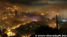BdT Deutschland Nebel über der Stadt Wernigerode