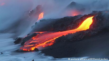 Hawaii Vulkanausbruch Kilauea ARCHIV
