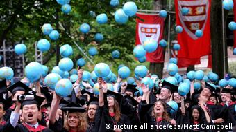 Harvard graduation ceremony, 2008 (picture alliance/epa/Matt Campbell)