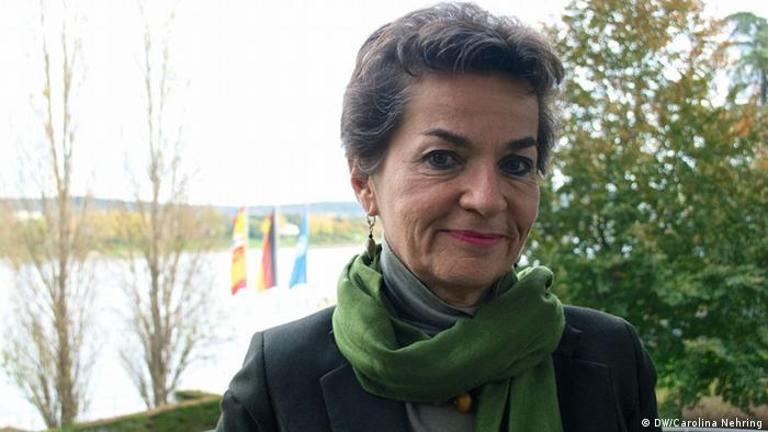 Christiana Figueres, líder negociadora del Acuerdo de París contra el cambio climático.