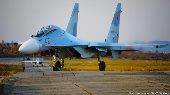 Russischer Kampfjet Sukhoi Su-30M2