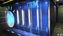 This Jan. 13, 2011 file photo provided by IBM shows the IBM computer system known as Watson at IBM's T.J. Watson research center in Yorktown Heights, N.Y. IBM on Wednesday, Oct. 8, 2014 gave details about new projects for its Watson cognitive computing software as it opened its New York headquarters. (AP Photo/IBM, File)