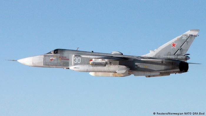Su-24 Kampfjet Russland