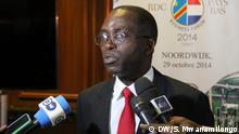 Premierminister der DR Kongo Matata Ponyo auf Staatsbesuch in den Niederlanden *** DW, Saleh Mwanamilongo, 29.10.2014