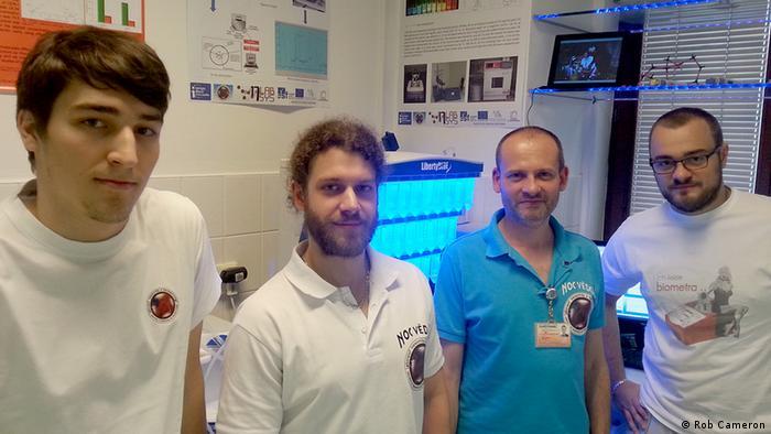 Kosmische Strahlung Brno Mendel Universität Nanotechnologie Jan Zitka Lukas Nejdl Professor Rene Kizek Zbynek Heger