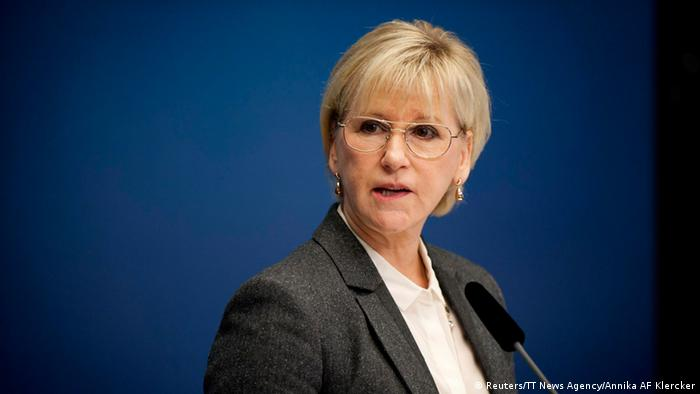 Margot Wallstroem 30.10.2014 (Reuters/TT News Agency/Annika AF Klercker)