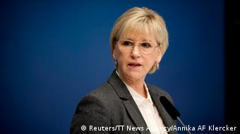 Die schwedische Außenministerin Margot Wallström (Foto: Reuters/TT News Agency/Annika AF Klercker)