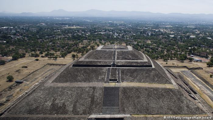 Teotihuacan Mexiko Archiv April 2014