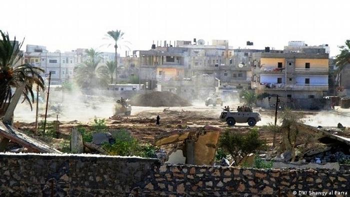 Reaktionen auf die ägyptische Pufferzone im Sinai an der Grenze zum Gaza-Streifen