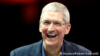 Tim Cook CEO Apple 27.10.2014