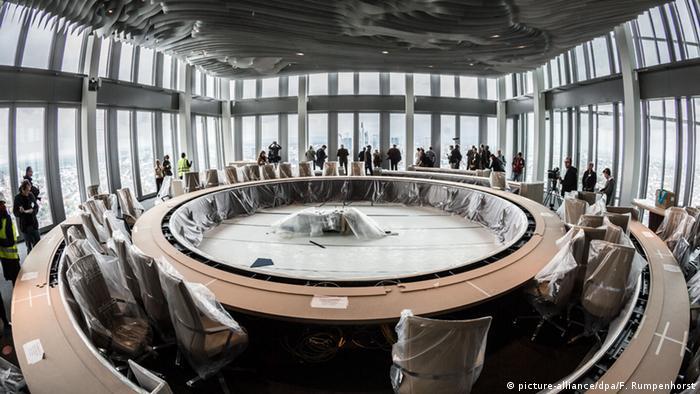 ECB site in Frankfurt