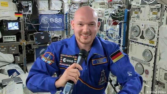 ISS-Interview: Astronaut Gerst vor der Rückkehr 30.10.2014